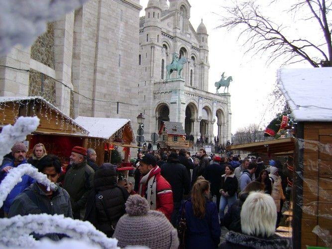 Kerstmarkt Parijs - Montmartre