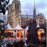 Kerstmarkt Parijs - Notre Dame