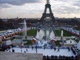 Kerstmarkt Parijs - Trocadéro en Eifeltoren